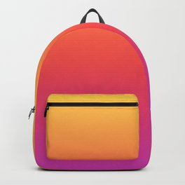 Ombre Colorful Summer Gradient Pattern Backpack