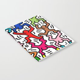 Keith Haring Colour  Notebook