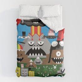 Make Lava Not War Comforters