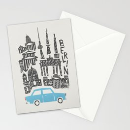 Berlin Cityscape Stationery Cards