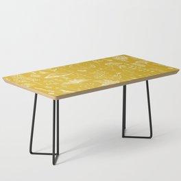 Woodland Walk / Mustard Coffee Table