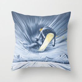 'The Portal' Throw Pillow