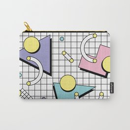 Memphis Pattern 26 - 80s - 90s Retro / Geometric Carry-All Pouch