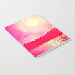 Spread Happiness Like Sunlight Notebook