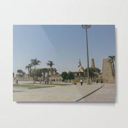 Temple of Luxor, no. 8 Metal Print