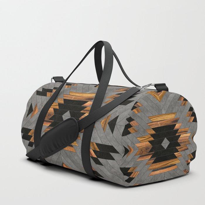 Urban Tribal Pattern No.6 - Aztec - Concrete and Wood Sporttaschen
