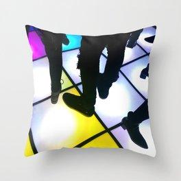 Saturday Night Throw Pillow