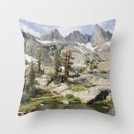 High Sierra Wonderland Throw Pillow