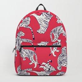 Tiger Pattern 004 Backpack