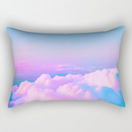 Bubblegum Sky Rectangular Pillow