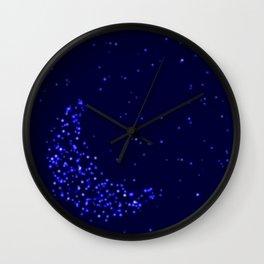 Starry Moon Wall Clock