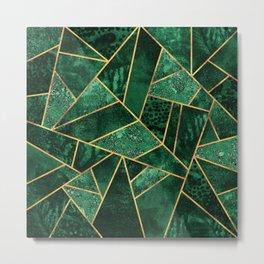 Deep Emerald Metal Print