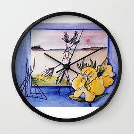 `GLOOSCAP'  From the Mic Macs, Canada Lege     by Kay Lipton Wall Clock