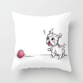 CATCH! Throw Pillow