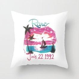 rare #1 Throw Pillow