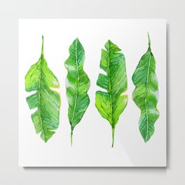 four leaves Metal Print