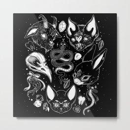 FAMILIAR SPIRITS Metal Print