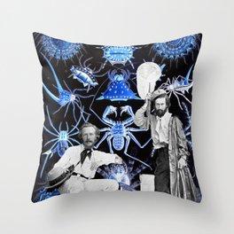 Haeckel's Cure for Arachnophobia Throw Pillow