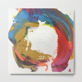 The Color of Circles Metal Print
