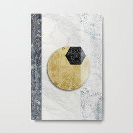 O to the eXagon Metal Print