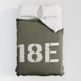 18E Special Forces Communications Comforters