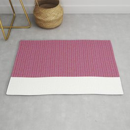 Pink Roses in Anzures 1 Knit 2 Rug