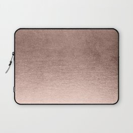 Moon Dust Rose Gold Laptop Sleeve