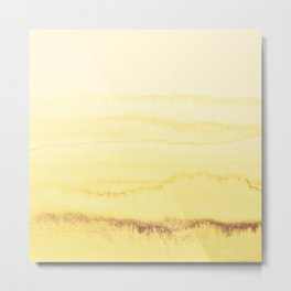 WITHIN THE TIDES - SUNNY YELLOW Metal Print