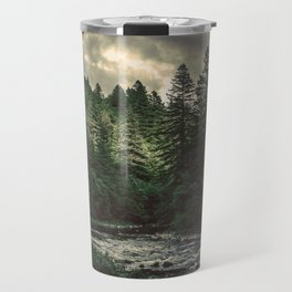 Pacific Northwest River - Nature Photography Travel Mug