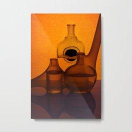 Etude in orange tones Metal Print