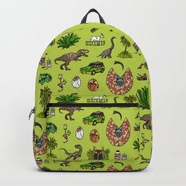 Jurassic pattern lighter Backpack