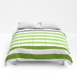Stripes Gradient - Green Comforters