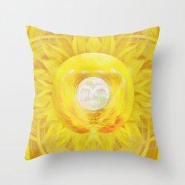 Gold In My Belly (Solar Plexus Chakra) Throw Pillow