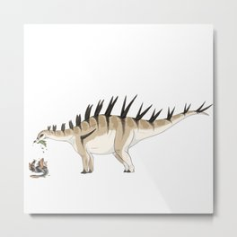 Carnivorous But Hardly A Threat Metal Print