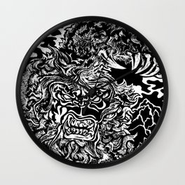 Sasquatch Siting Wall Clock