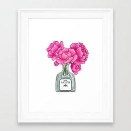 Lovely In Pink Framed Art Print