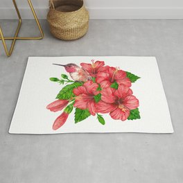 Tropical bouquet Rug