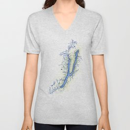 Keuka Lake Unisex V-Neck