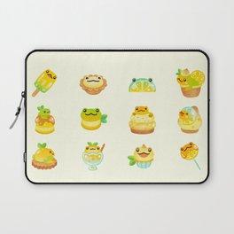 Sweet Lemon frog Laptop Sleeve