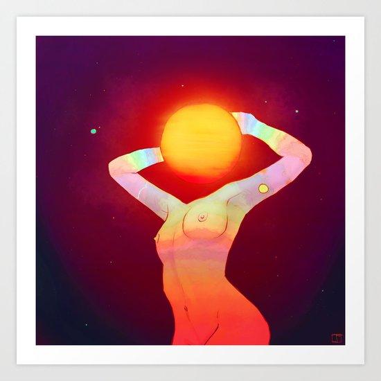 Sun Head by phazed