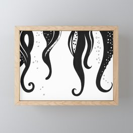 Tentacles Framed Mini Art Print
