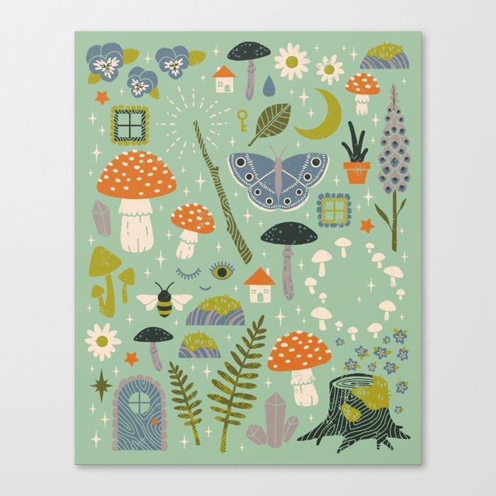 Fairy Garden Leinwanddruck