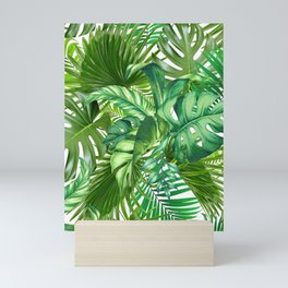 green tropic Mini Art Print