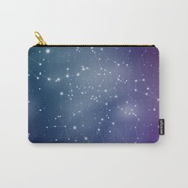 Zodiac Signs Constellations Gradient Shine Carry-All Pouch