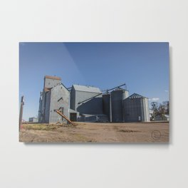 Elevators, Goodrich, North Dakota 1 Metal Print