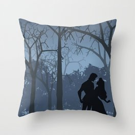 I walked with you once upon a dream (Sleeping Beauty) Throw Pillow
