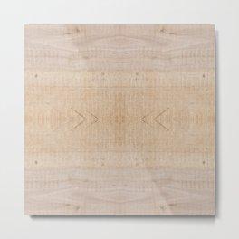 wood 5 Metal Print