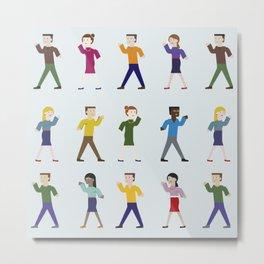 Dance like an egyptian Metal Print