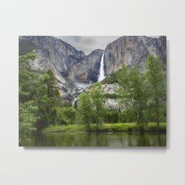 Yosemite Falls - CA Metal Print