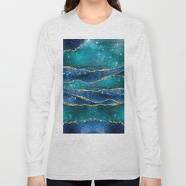 Marble Galaxy #Society6 #Buyart Long Sleeve T-shirt